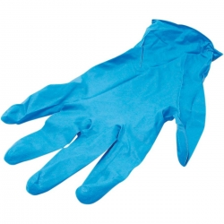 Gants en nitrile bleu TWIN AIR