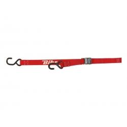Sangles 2 crochets à boucle largeur 25 mm BIHR rouge