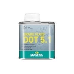 Liquide de frein MOTOREX DOT 5.1 - 250 ml