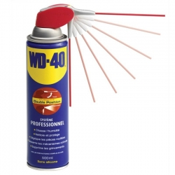 Spray multi-usages WD40 Systéme PRO - 500 ml