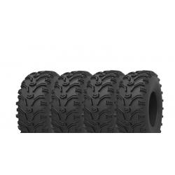 Pack 4 pneus avant et arrière KENDA Bear Claw 25x8-12 et 25x10-12