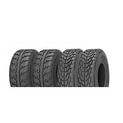 Pack 4 pneus avant et arrière KENDA SpeedRacer 25x8-12 et 25x10-12