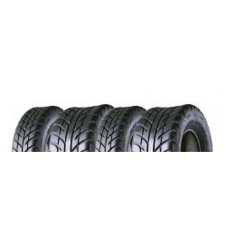 Pack 4 pneus avant et arrière MAXXIS Spearz 25x8-12 et 25x10-12