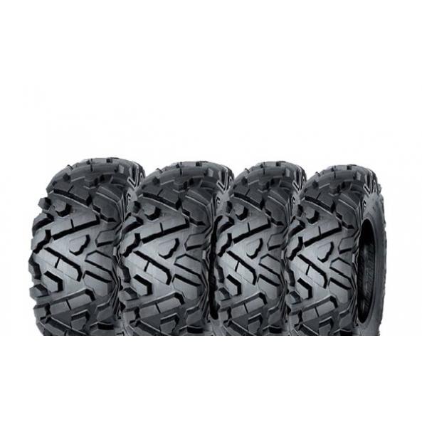 Pack 4 pneus avant et arrière ART Top Dog 25x8-12 et 25x10-12