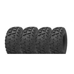 Pack 4 pneus avant et arrière KENDA Bounty Hunter 25x8-12 et 25x10-12