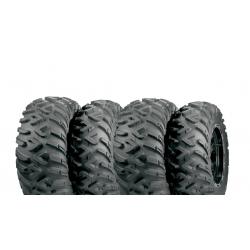Pack 4 pneus avant et arrière ITP TerraCross 25x8-12 et 25x10-12