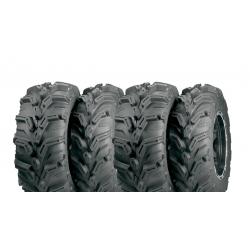 Pack 4 pneus avant et arrière ITP MudLite XTR 25x8-12 et 25x10-12