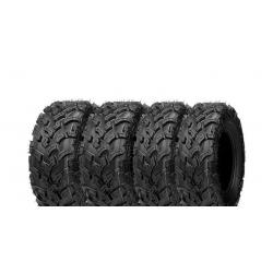 Pack 4 pneus avant et arrière ART Passkey 25x8-12 et 25x10-12