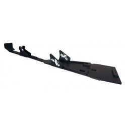 Semelle centrale AXP en PHD noir pour SUZUKI 450 LTR 2006-2012