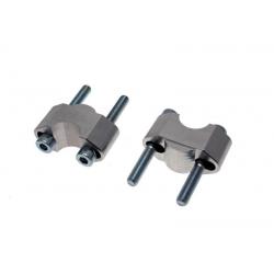 Réhausses de pontets de 15 à 35mm ULTIMA ALLOY pour guidon de 22mm