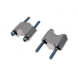 Réhausses de pontets de 15 à 35mm ULTIMA ALLOY pour guidon de 28,6mm