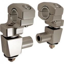 Réhausses de pontets pivotantes ROX 51mm anti-vibration pour guidon de 22mm