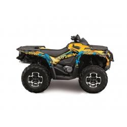 Kit déco KUTVEK Rotor pour CAN AM OUTLANDER 650 MAX 2006-2011