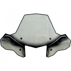 Pare brise COBRA - Avec phare intégré / montage rapide