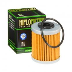 Filtre à huile HIFLO FILTRO HF157 pour KTM 450 XC filtre court