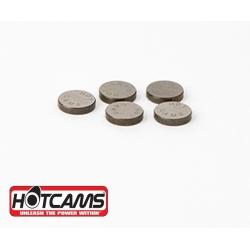 Pastilles de soupapes HOTCAMS Diamètre 10,0mm Épaisseur 2,5mm