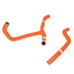 Durites de radiateur SAMCO orange pour KTM 450 XC avec thermostat